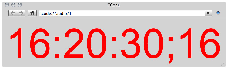 TCode - Timecode logging software for any application or